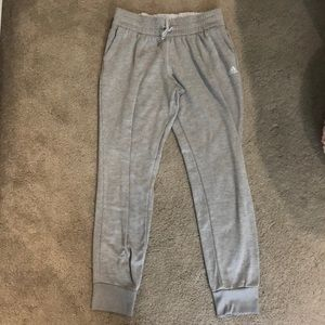 Adidas Grey Jogger Sweatpants